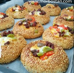 Omelette, Bagel, Doughnut, Hamburger, Pizza, Cooking Recipes, Bread, Desserts, Pains