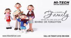 Hi-Tech Driver Education Happy family day!!! #family #familyday #happyfamilyday