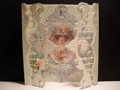 Voorbeeldkaart - sweet lady - Category: Stan Devices - Hobbyjournaal your hobby website