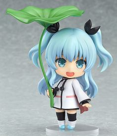 """**Limited-time offer! Get FREE shipping worldwide on pre-order items! The free shipping makes it a great buy! Now is your only chance!**    **Offer Ends: February 4, 2015. 0:00(PST)**    **""""With this Nendoroid, you can meet me whenever you like!""""**    From the anime series 'Celestial Method' comes a Nendoroid of the 'saucer girl' Noel! She comes with a variety of option parts including a leaf umbrella, a cut out panel of Kirigon and a saucer cushion. She also comes with three expressions…"""