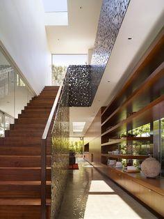 Walnut Residence by Modal Design - stair porn