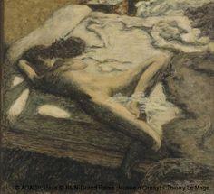 Pierre Bonnard,La indolente,© ADAGP, Paris © RMN-Grand Palais (Musée d'Orsay) / Thierry Le Mage