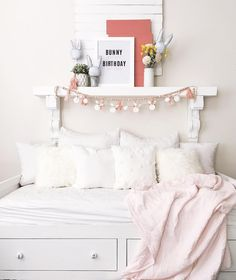 """the dotted bow on Instagram: """"Sooo close guys I swear. The blog post is almost done. These real bloggers work hard is all I'm gonna say or they know something I don't…"""" Mantles, Work Hard, Bed Pillows, Pillow Cases, Toddler Bed, Bows, Furniture, Instagram, Home Decor"""