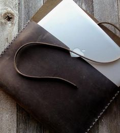 Brown Leather 13'' MacbookPro Case | INACTIVE iPad | Stock & Barrel | Scoutmob Shoppe | Product Detail