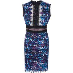 Saloni Trudi Sleeveless Mini Dress (1,095 BAM) ❤ liked on Polyvore featuring dresses, purple, evening dresses, evening cocktail dresses, short dresses, holiday cocktail dresses and cocktail dresses