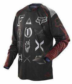 42381e1902d 2014 Fox 360 Jersey - Laguna (LARGE) (BLACK) The Fox brand is