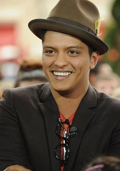 Bruno Mars. Love him and his gorgeous voice...