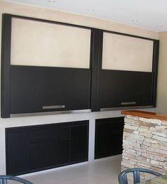 Flat Screen, Divider, Room, Furniture, Home Decor, Sheet Metal, Stainless Steel, Modern Design, Grilling