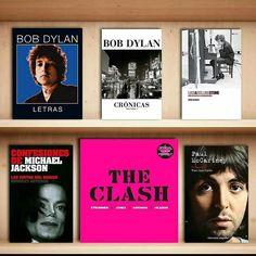 Semana de la música @OceanoRD  #BobDylan <<Letras>>  #BobDylan <<Crónicas>>  #BobDylan<<Like a Rolling Stone>>  #MichaelJackson <<Confesiones>>  #TheClash <<Oficial>>  #PaulMcartney <<Biografía>> #OceanoMúsica #AmamosLaLectura #OceanoRD #Librero #RockDay #DíaMundialDelRock