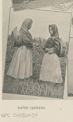 Aleut girls - 1890