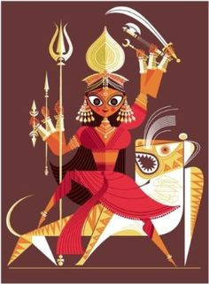 from The Big Poster Book of Hindu Deities