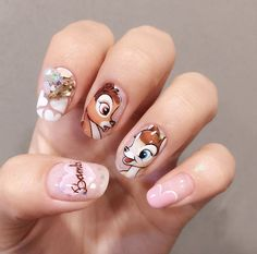Bambi nails by Salon de Lumiere