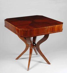 Art Deco Gaming Table / Czech Republic, c. 1925-30