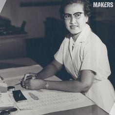 Katherine G. Johnson is a pioneer in American space history. A NASA mathematician, Johnson's computations have influenced every major space program from Mercury through the Shuttle. Watch her story: http://www.makers.com/katherine-g-johnson #InspireHerMind #STEM