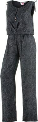 #MAUI #WOWIE #Damen #Maui #Wowie #Overall #Damen #grau - Maui Wowie Ärmelloser Overall mit elastischer, geraffter Taille…