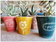 Cerámica y Diseño-Tres Margaritas