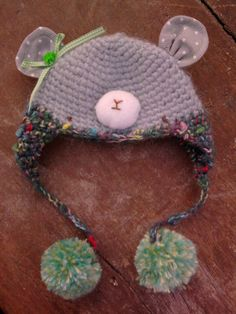 blythe mouse hat by pocochis on Etsy, $16.00
