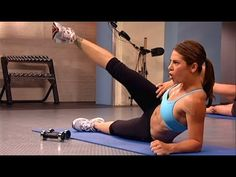 Jillian Michaels: No More Trouble Zones Workout- Circuit 7 Focuses on muffin types