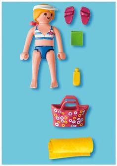Amazon.com: Playmobil 4695 Special: Tourist On Beach