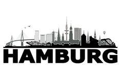 Hamburg Waterkant 3C von Grafikhure - TapeRay Wandtattoo