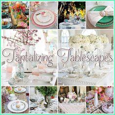 Tantilizing #Tablescapes