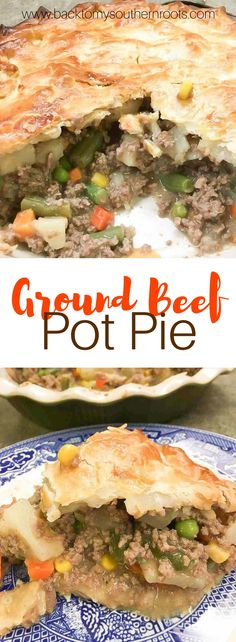 superior Straightforward Floor Beef Pot Pie is an easy and fast recipe for dinner. The pot pie is a good consolation meals recipe. Supply : Easy Ground Beef Pot Pie by juliepollitt Board : Best of … Easy Pie Recipes, Quick Dinner Recipes, Meat Recipes, Hamburger Pie Recipes, Bison Recipes, Ground Beef Stroganoff, Ground Beef Recipes For Dinner, Dinner With Ground Beef, Dinner Ideas