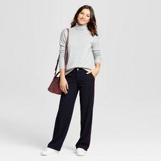 Women's Turtleneck Sweater - A New Day Gray Xxl
