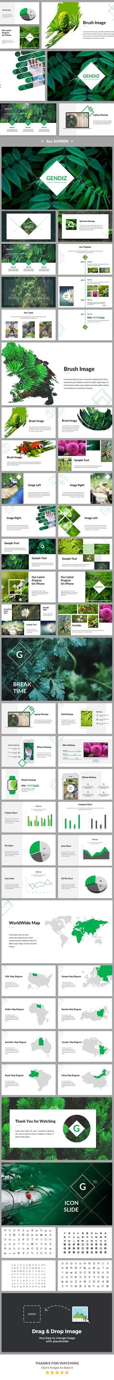 Gendiz Powerpoint Template - Business PowerPoint Templates