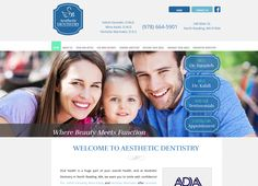 #sesamewebdesign #responsive #psds #dental #top-menu #full-width #gray #blue #green #serif #sans #contained #pattern