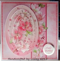 Another Hunkydory kit card. More details can be found at http://stampingbubbles.blogspot.co.uk/2015/08/pretty-birthday-flowers.html