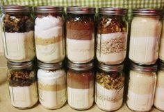 Cookie mixes in jars