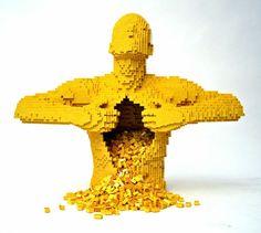 20 unglaubliche LEGO Kunstwerke von Nathan Sawaya  - http://wohnideenn.de/do-it-yourself-diy/12/unglaubliche-lego-kunstwerke.html #DIY-Doityourself