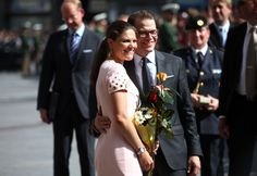 Princess Victoria - HRH Crown Princess Victoria Of Sweden And Prince Daniel On Germany Visit - Day 1