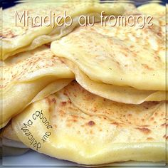 Mhadjeb au fromage