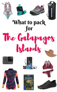 What To Pack For A Trip To The Galapagos Islands. One of the most important ways to prepare your trip is to know what to pack. Here is my top list of what to pack for a trip to the Galapagos Islands.
