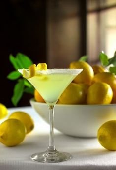 Lemondrop Martini | Tasty Kitchen: A Happy Recipe Community!  I just like to add a little Grand Marnier.