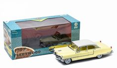 Diecast Auto World - Greenlight 1/18 Scale 1955 Cadillac Fleetwood Series 60 Special Yellow Diecast Car Model 12936, $54.99 (http://stores.diecastautoworld.com/products/greenlight-1-18-scale-1955-cadillac-fleetwood-series-60-special-yellow-diecast-car-model-12936.html/)