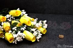 Yellow Wax Roses