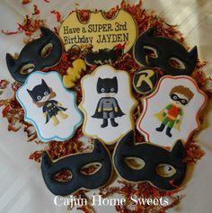 Superhero Birthday Set 2   Cookie Connection   Cajun Home Sweets