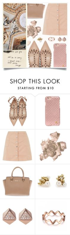 """""""She's Part Of The Museum"""" by racanoki ❤ liked on Polyvore featuring Valentino, Tory Burch, Innocence, By Terry, Michael Kors, Ruth Tomlinson, FOSSIL, Poppy Finch and RaCaNoKi"""