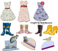 Lots of free printables - Free Collage Sheet by rubyblossom., via Flickr