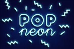 POP NEON STYLE by Evlogiev on Creative Market