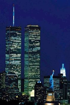 NYC - Twin Towers----taken down by terrorist Pictures Images, Photos, New York City Pictures, Empire State Of Mind, I Love Nyc, City That Never Sleeps, World Trade Center, Great Places, Travel