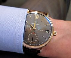 IWC exquisito.