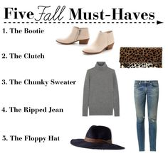 Polished Closets || 5 Fall Must Haves