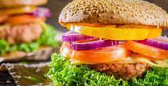 I burger vegetali di #donnesi  #Veggieburger #ricette #vegetariane
