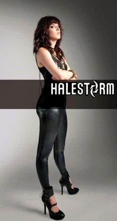 Lzzy Hale of Halestorm