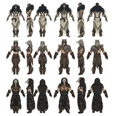 Steam :: Conan Exiles :: Weekly Community Newsletter: Pets and The Savage Frontier Fantasy Character Design, Character Concept, Character Art, High Fantasy, Fantasy World, Art Inspiration Drawing, Character Inspiration, Armor Concept, Concept Art