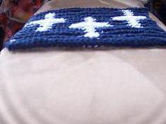 Ravelry: Triple Cross illusion/shadow dishcloth pattern by Cheryl Edwards