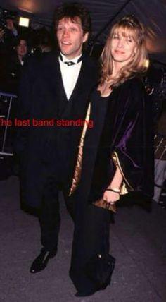 Cute couple Jon Bon Jovi and wife Dorothea Hurley